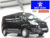 FORD TRANSIT CUSTOM TREND LOW MILEAGE 2.2TDCi 125PS L1H1 SWB BLACK 125 BHP