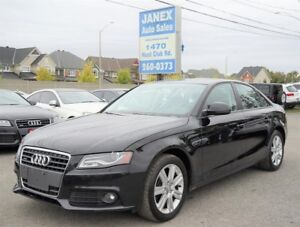 2009 Audi A4 2.0T Standard BLACK LEATHER INTERIOR | SUNROOF |...