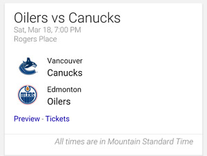 Oilers vs canucks I am looking for 5 tickets