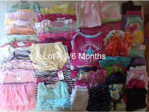 Baby Girl Summer Clothing Lots Various Sizes