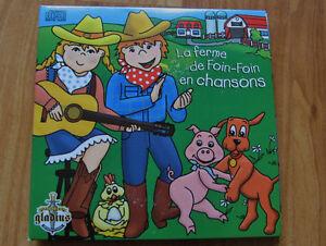 1 CD de chanson La ferme de Foin Foin en chanson (12 chansons)