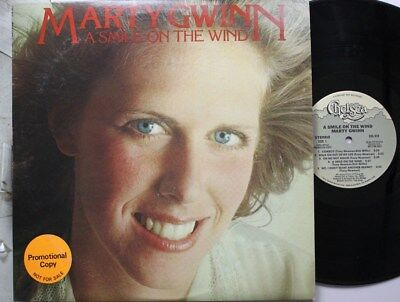 Rock Lp Marty Gwinn A Smile On The Wind On Chelsea - A Chelsea Smile