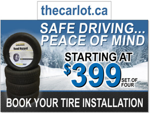 WINTER Tires for Sale - Set of 4 starting at $399.00 IN STOCK