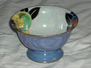 Noritake M Morimura handpainted made in Japan fluted bowl 1920's West Island Greater Montréal image 2