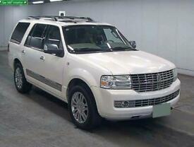 FRESH IMPORT 2010 NEW SHAPE LINCOLN NAVIGATOR 5.4 V8 AUTO LUXURY SUV WHITE LHD