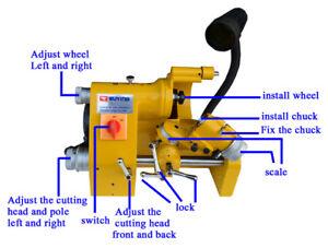 220V Universal cutter grinder sharpener for end mill#141010