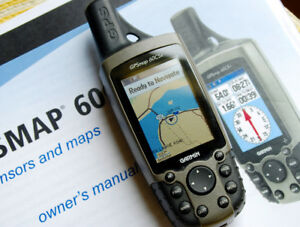 Garmin GPSmap 60CSx Handheld GPS - SPOKEN FOR -