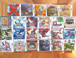 3DS •   DS • Gba • Gbc Games PickUpOnly READ  DESC