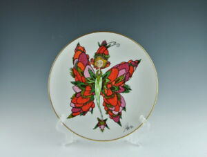 Goebel Collector's Plate.Winged Fantasies.Strawberries.Rare