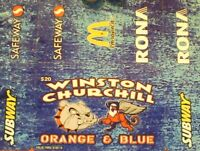 Winston Churchill High School Orange and Blue Discount Cards