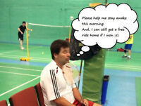 Social Badminton Competition Games - October