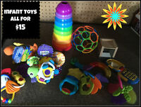Infant toy lot- all for $15- in Vernon