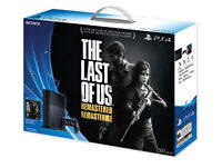 PS4 The Last of Us bundle, comes with extra controller, remote