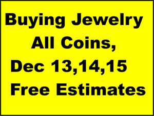 Dec13,14,15Cash Paid for-Unwanted Gold Jewelry+ALL COINS,OLD PA