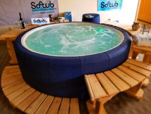 SOLD -- Refurbished Hot Tub including WARRANTY