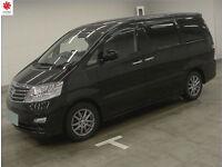 2008 (57) TOYOTA ALPHARD MX L 3.0 V6 4WD AWD 4x4 Automatic 8 Seater MPV Sunroof