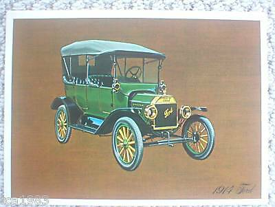 1914 FORD Automobile Print