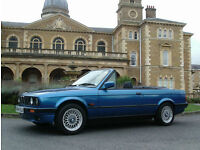 BMW 318 1.8 AUTOMATIC E30 DESIGN EDITION 1 OF ONLY 200 MADE 1 LADY OWNER