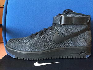 Oreo Air Force 1 Mid Flyknit [Size 11]