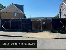 FREEHOLD PLOT OF LAND WITH DEVELOPMENT POTENTIAL