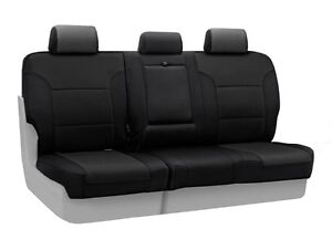 Coverking Custom Fit Rear 60/40 Bench Seat Cover for Select Hond