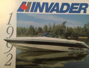1992 Invader Speed Boat