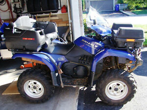 2004 Yamaha Grizzly 660 for sale / a vendre