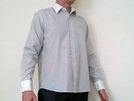 """Paul Smith """"iron-free"""" shirts (large). $25 each or three for $70."""
