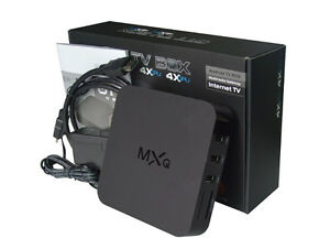 Like New MXQ Android box in box for sale or trade London Ontario image 1