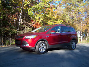2013 Ford Escape Red Hatchback