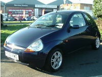 Ford Ka 1.3 2002MY Luxury Ltd Edn CAT D WRITE OFF MOT UNTIL JANUARY 2017