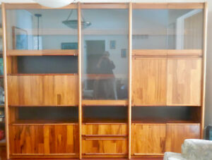 Beautiful rosewood wall unit