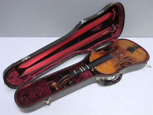 looking for unwanted violin and/or bow for parts/repair