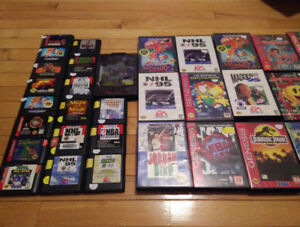 *HUGE SELECTION* Sega Genesis CD Master System Dreamcast Saturn