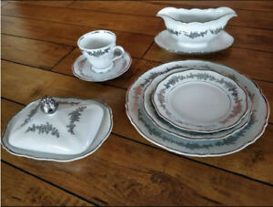 Belkraft China Bouquet Pattern 62 pieces total