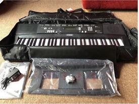 NEW - Yamaha EZ-220 Portable Keyboard ( plus new STAG case )