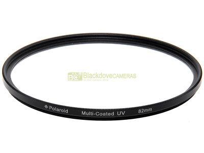 82mm. Filtro UV Multi Coated Slim Polaroid. Ultra violet filter.
