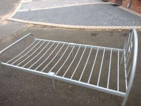 Metal Frame Bed - single