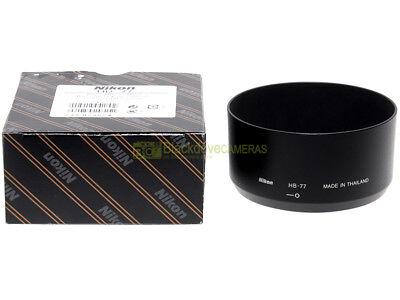 Nikon paraluce HB-77 x obiettivo Nikkor AF-P 70/300mm. Originale.