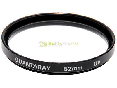 52mm. filtro UV Quantaray. Ultra Violet Filter.