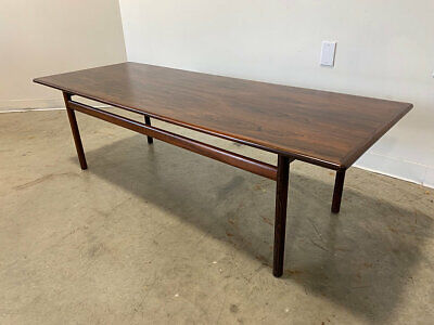 Post 1950 Rosewood Coffee Table Vatican