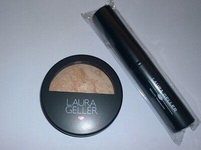 Laura Geller Baked Balance n Brighten Foundation - Fair - Full Size w/Brush