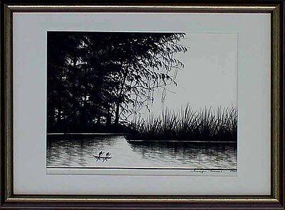 Chinesischer Fotokünstler Thomas Sungu, datiert 1960, Landschaft  x 64-598 x