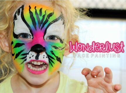 Wonderlust face painting, facepainter, facepainting, face painter Griffin Pine Rivers Area Preview