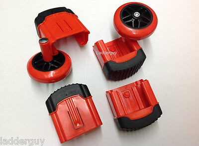 Wheel/foot kit for Revolution, Xtreme, Velocity and LT