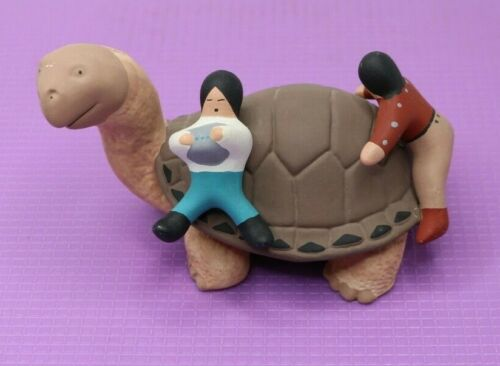 Native American Indian Pottery Hand Painted Turtle