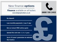 New Gas Boiler Installation | 7 & 10 year warranties | Finance options available from £10 per month