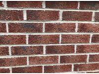 95 red bricks