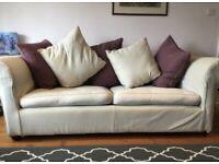 Sofa magic large cream sofa