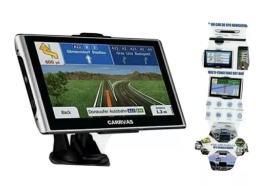 7inch CARRVAS GPS Navigation For Car, Truck/Car/RV Vehicle GPS Satellite Navigat - $49.89